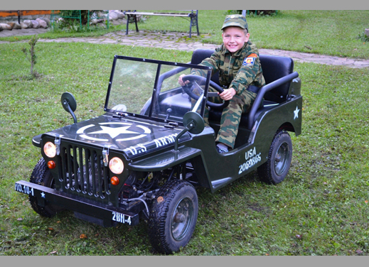 Купить в Санкт-Петербурге мини джип Willys