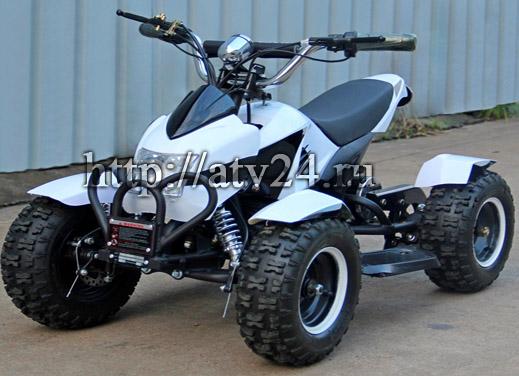 Электрический детский квадроцикл. Мини квадроцикл MINI МУХА-500
