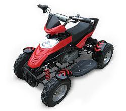 Квадроцикл бензиновый для детей от 3-х лет MQ-3