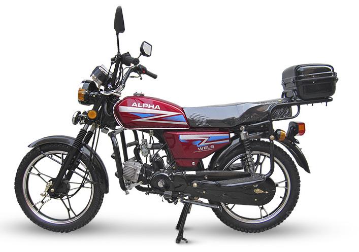 Мопеды ALPHA 50-150cc, толко на сайте atv24.ru самые выгодные цены на мопеды WELS ALPHA