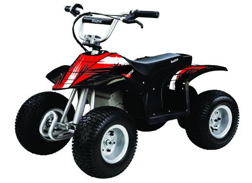 Детский электрический квадроцикл Razor Dirt Quad