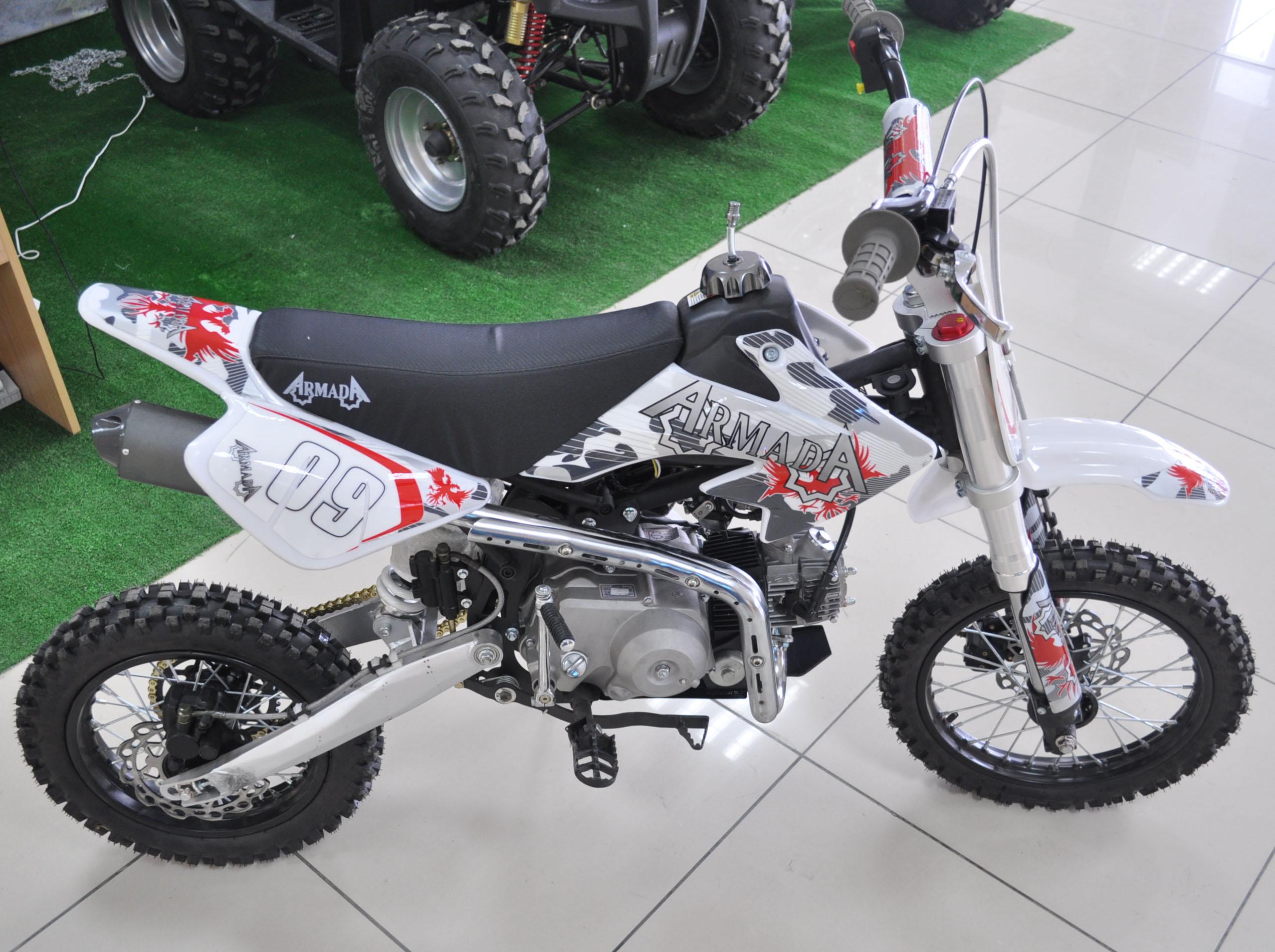 Мини-мотоцикл питбайк armada pb110a