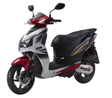 Купить в Санкт-Петербурге скутер SYM