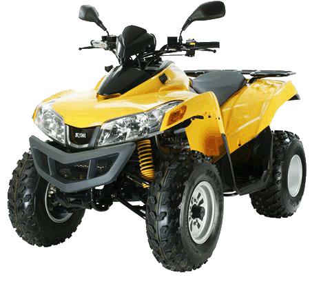 Купить в Санкт-Петербурге квадроцикл SYM QUADLANDER ATV-300