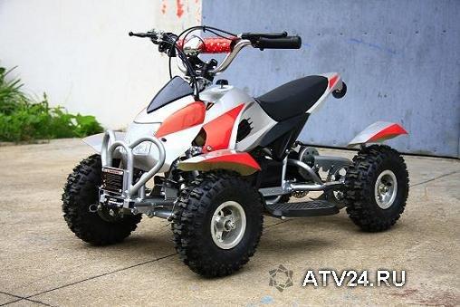 Электрический детский квадроцикл. Мини квадроцикл E-ATV CS E9047